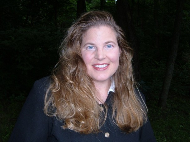 Renee Hand, author of the Crypto-Capers books