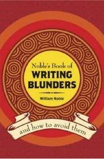 writing blunders