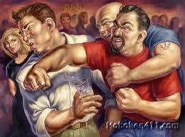 brawling