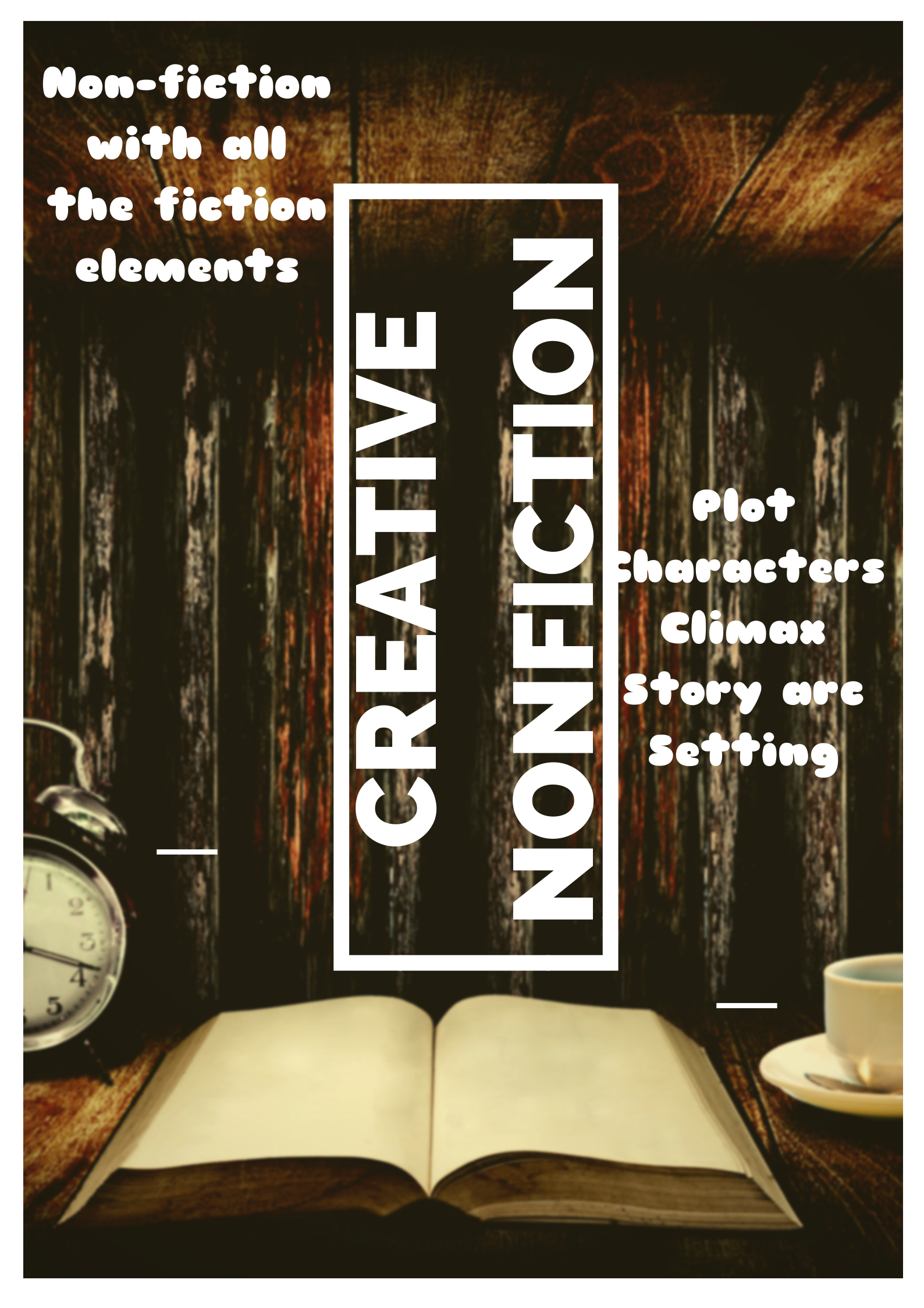 Tips for writing creative nonfiction