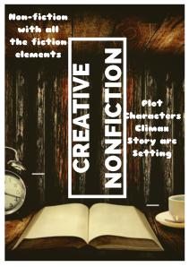 Creative nonfiction writing techniques