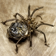 Steampunk_Brass_Spider