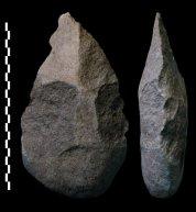 Acheulian tools of Man who preys