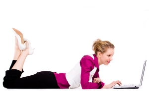4718494 commercial woman with a laptop