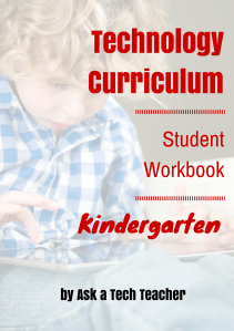 Tech Curriculum--Kindergarten