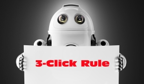 Tech Tip for Writers #115: The 3-Click Rule