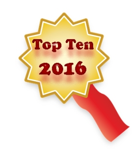 Top 10 Commented-on Articles and Click-throughs in 2016