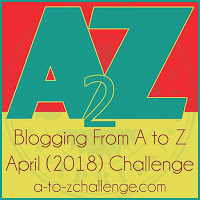 A to Z Challenge Reveal Day: I'm in!