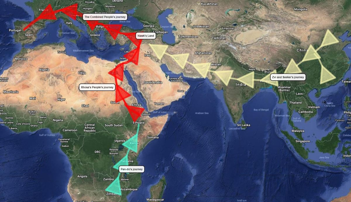 man 's journey out of africa