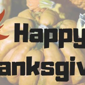 Happy Thanksgiving Week!
