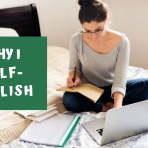 Why Self-Publishing is Right forMe