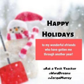 #HolidayGreetings 12-21 thru1-4