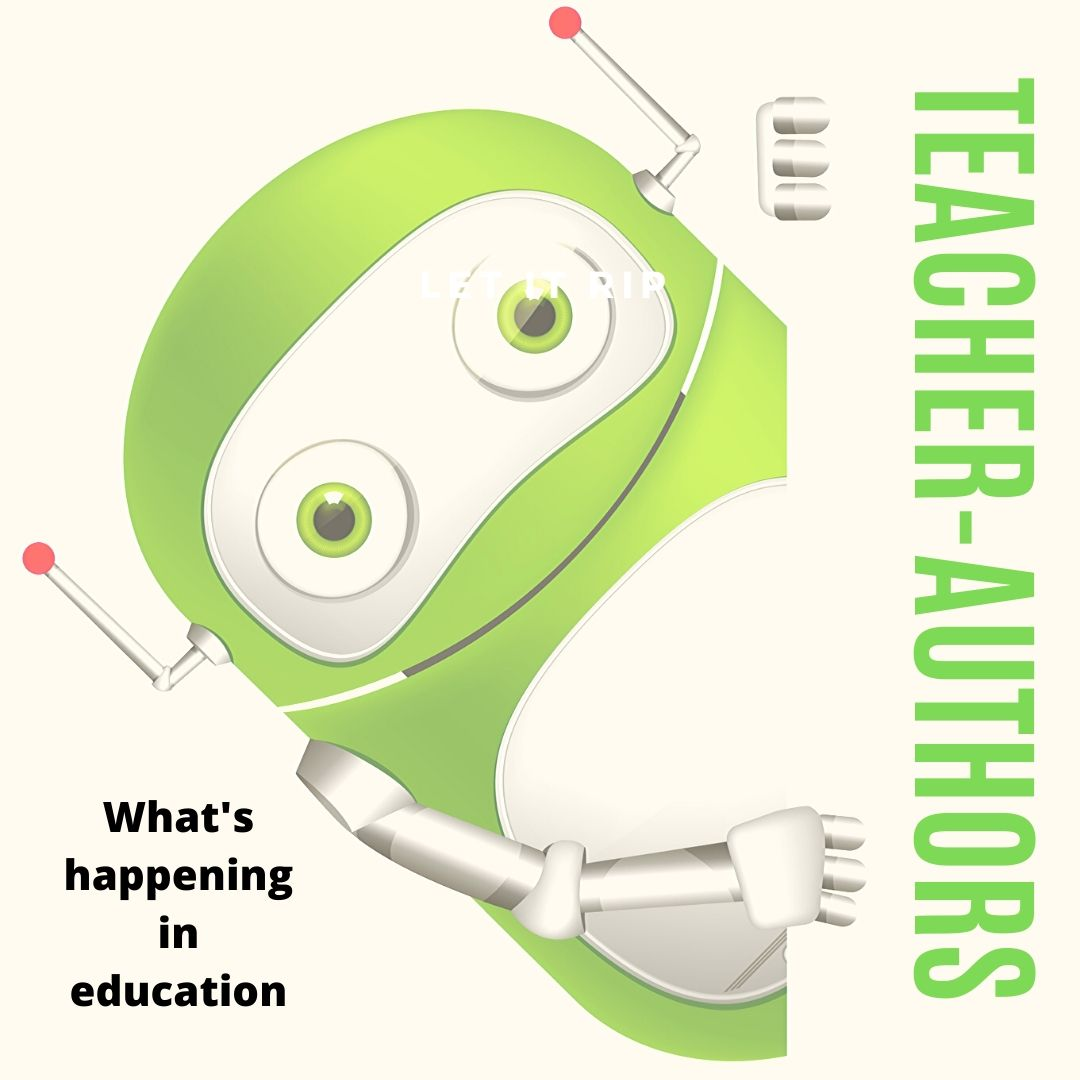 Teacher-Authors: Here's What's Going on at my Education Blog