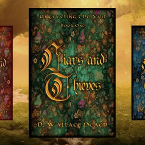 Welcome Diana Peach and her new Fantasy, Liars and Thieves