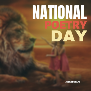 The UK's National Poetry Day — Oct. 1st